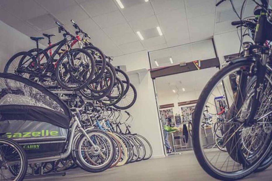 Electric bike shop